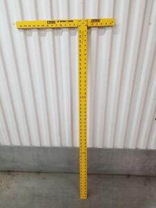 """Empire 48"""" Drywall T Square Yellow $30.00"""