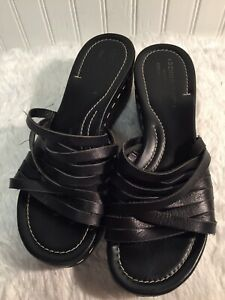 Donald Pliner Womens Leather Braided Sandals Made In Italy 8 M $28.00