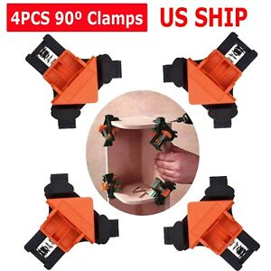 4X 90 Degree Right Angle Corner Clamp Woodworking Wood For Kreg Jigs Clamps Tool $16.99
