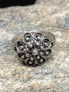 830s silver Ring Norway Norwegian Filigran Bunad