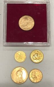 5 ASSORTED GOLD COINS SEE OTHER GOLD SILVER ETC. $1999.95