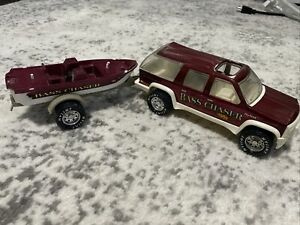 Nylint Bass Chaser Gone Fishing Truck 1994 Burnt Red. Nice Condition