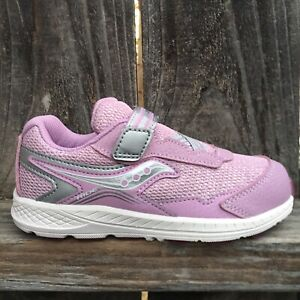 Saucony Toddler Girls Shoes Sneaker Pink Silver Glitter $29.99