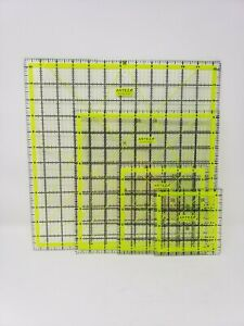 Arteza Acrylic Quilting Square or Rule New $14.99