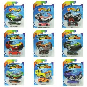 Hot Wheels COLOR SHIFTERS Color Changing Diecast Cars 1:64 YOU CHOOSE $4.99