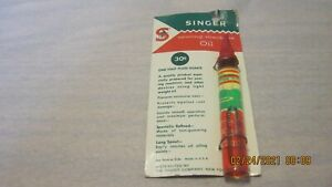 Singer Sewing Machine Oil New E $7.99