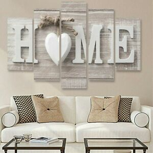 5Pcs Unframed Modern Art Oil Painting Print Canvas Picture Wall Home Decor $12.64