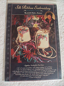 Silk Ribbon Embroidery Sewing Cases Pattern by Judith Baker Montano # $6.50