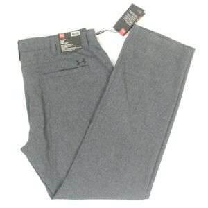 Under Armour Golf Pants Gray Straight Loose Mens Size 42 x 36 $85 NEW $59.99