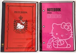 **Last One** Lot of 2 Sanrio Hello Kitty Notebook