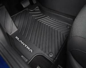 OEM Hyundai Elantra 21 22 All Weather Fitted Liners Floor Mats FRT RR ABF13AC500 $184.61