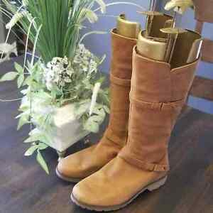 Teva DELAVINA LEATHER High Boots 8 $119.00