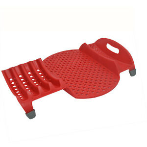 Mini In Sink Dish Drainer Small Space Saving Drying Rack RV Camping Red $18.99