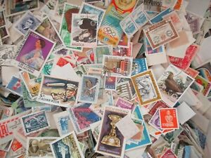 5000 World Stamps off Paper free shipping. $49.99