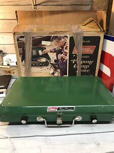 Coleman Two Burner Propane Camping Stove Model No. 5400 A 700