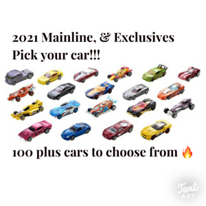 2021 Hot Wheels Main Line Series You Pick 250 Brand New Hot Wheels🔥🔥😮 $1.50