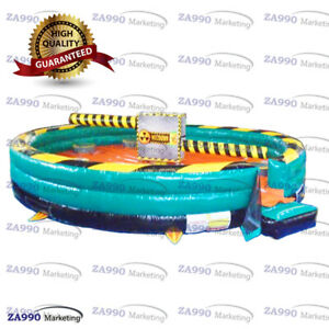 26ft Inflatable Wipeout Meltdown Obstacle Course Eliminator Game With Air Blower $5300.00