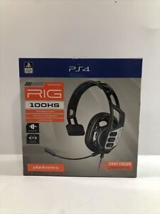 PS4 Gaming Headset Plantronics Rig 100HS for PlayStation4 $14.99