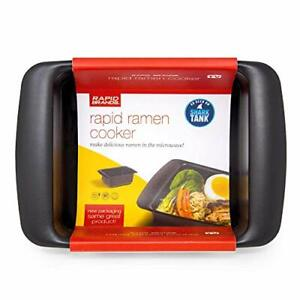 Rapid Microwave Ramen Cooker Quickly Noodles in 3 Min BPA Free Dishwasher Safe
