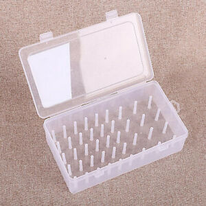 42 Slots Sewing Thread Holders for Spools of Thread Empty Storage Box Compact $10.00