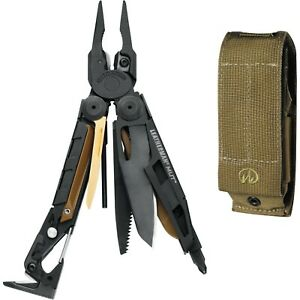 Leatherman MUT Multi Tool Black with Standard Tan Sheath 850022 USA ONLY