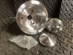 88 94 Billet Aluminum Chevy Pulley Set $100.00