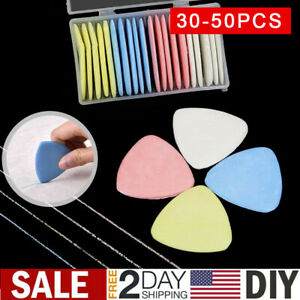 Professional Tailors Chalk Triangle Tailor#x27;s Fabric Marker Chalk Sewing Notions $14.59