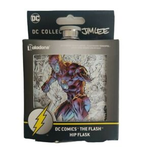 DC Collection The Flash By Jim Lee Hip Flask 6 oz. New DC Comics