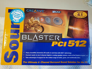 Creative Sound Blaster PCI 512 $40.00