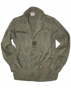 French Military F2 O.D. field jacket LXL amp; XXL NOS condition free shipping $47.99