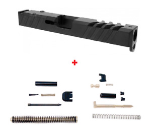 Gen 3 Glock 19 Slide 9mm RMR Ready Cover Plate With Upper Parts Completion Kit $352.58