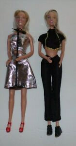 Britney Spears Doll as Singer In Silver Lame w Microphone amp; Official Clothing $8.95