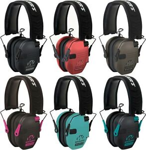 Walker's Razor Slim GWP Electronic Hearing Protection amp; Sound Amp Ear Muffs $40.99