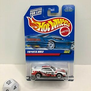1997 Vintage Hot Wheels Collector #894 TOYOTA MR2 White w Chrome Lace Spokes $14.49