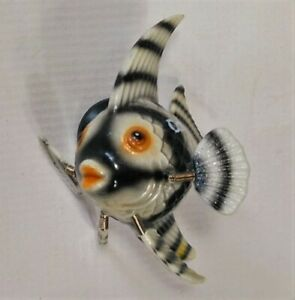 Angel Fish Bobble Magnet Canada Wiggly Jiggly Sea Exotic Short Fin Vtg $5.40