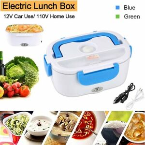 Portable Home Car Electric Heating Lunch Box Food Heater Bento Warmer Container