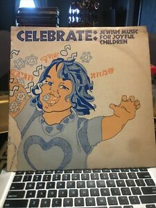 Celebrate: Jewish Music For Joyful Children LP Signed cover $29.00