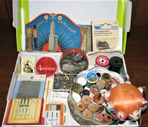 Vintage Sewing Supplies Mixed Lot amp; Patterns $19.99