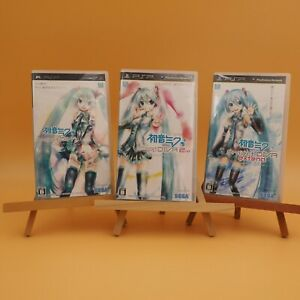 PSP Hatsune Miku Project Diva 1st 2nd Expend 3Games set $29.99