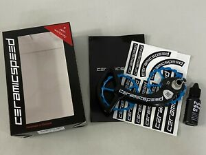 CeramicSpeed OSPW System For Shimano 9000 10 11Speed Coated Blue #102423 $600.00
