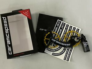 CeramicSpeed OSPW System For Shimano 9000 10 11Speed Coated Gold #101648 $600.00