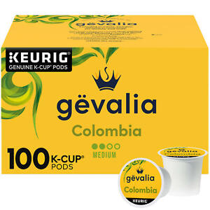 Gevalia Colombian K Cup Coffee Pods 100 ct. Free Shipping 100%