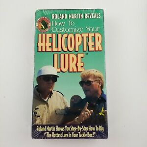How to Customize Your Helicopter Lure by Roland Martin VHS NEW SEALED