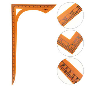 1Pc Shape Sewing Ruler Patchwork Clothing Gift Device Gauge Tool $11.30