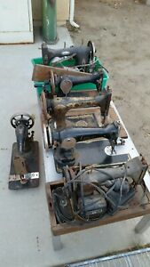 Old Sewing Machine lot Of 7 $100.00