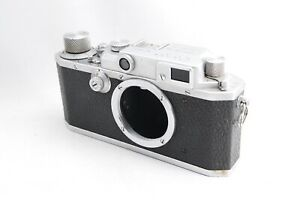As is For parts Canon II B 1949 rangefinder camera body 38257 7