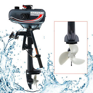 3.5HP 2 Stroke Outboard Motor Fishing Boat Engine CDI Water Cooling System 2500W
