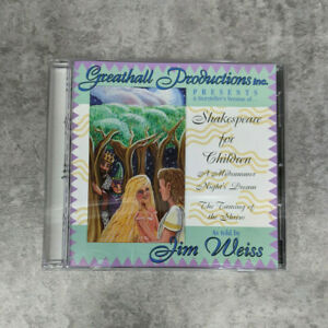 Shakespeare for Children by Jim Weiss CD Greathall Productions