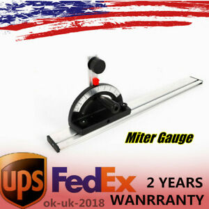 Bandsaw Table Saw Router Table Angle Mitre Guide Gauge amp; Fence Cut Woodworking $22.20