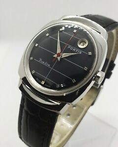 Vintage 1960#x27;s Fortis TrueLine amazing condition with perfect dial Automatic.